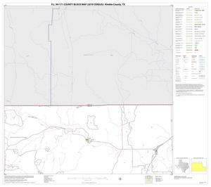 Primary view of object titled 'P.L. 94-171 County Block Map (2010 Census): Kimble County, Block 4'.