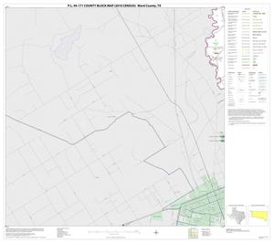 Primary view of object titled 'P.L. 94-171 County Block Map (2010 Census): Ward County, Block 7'.