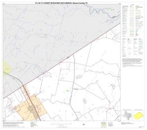 Primary view of object titled 'P.L. 94-171 County Block Map (2010 Census): Navarro County, Block 2'.