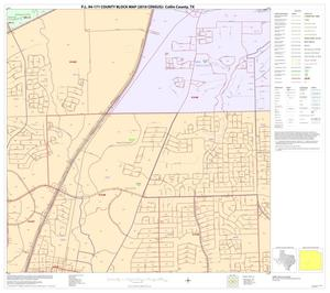 Primary view of object titled 'P.L. 94-171 County Block Map (2010 Census): Collin County, Block 63'.