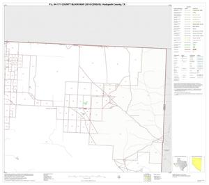 Primary view of object titled 'P.L. 94-171 County Block Map (2010 Census): Hudspeth County, Block 5'.