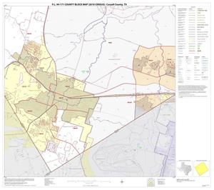 Primary view of object titled 'P.L. 94-171 County Block Map (2010 Census): Coryell County, Block 26'.