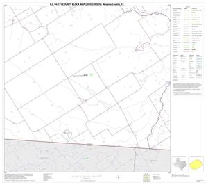 Primary view of object titled 'P.L. 94-171 County Block Map (2010 Census): Navarro County, Block 26'.