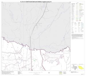 Primary view of object titled 'P.L. 94-171 County Block Map (2010 Census): Angelina County, Block 3'.