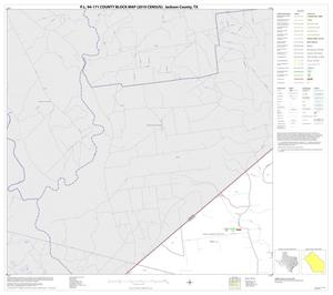 Primary view of object titled 'P.L. 94-171 County Block Map (2010 Census): Jackson County, Block 1'.