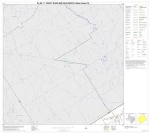 Primary view of object titled 'P.L. 94-171 County Block Map (2010 Census): Milam County, Block 1'.