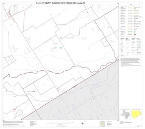 Primary view of object titled 'P.L. 94-171 County Block Map (2010 Census): Ellis County, Block 32'.