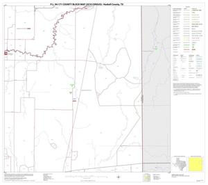 Primary view of object titled 'P.L. 94-171 County Block Map (2010 Census): Haskell County, Block 8'.