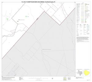 Primary view of object titled 'P.L. 94-171 County Block Map (2010 Census): Fort Bend County, Block 70'.