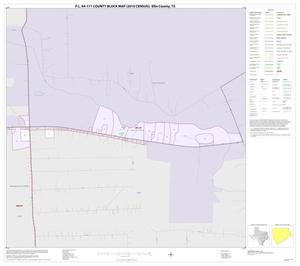 Primary view of object titled 'P.L. 94-171 County Block Map (2010 Census): Ellis County, Inset B01'.