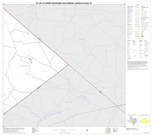 Primary view of object titled 'P.L. 94-171 County Block Map (2010 Census): Jeff Davis County, Block 23'.