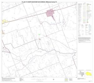 Primary view of object titled 'P.L. 94-171 County Block Map (2010 Census): Williamson County, Block 27'.