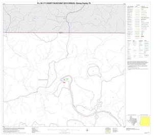 Primary view of object titled 'P.L. 94-171 County Block Map (2010 Census): Kinney County, Block 4'.