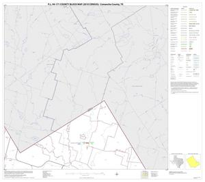 Primary view of object titled 'P.L. 94-171 County Block Map (2010 Census): Comanche County, Block 11'.