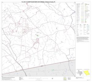 Primary view of object titled 'P.L. 94-171 County Block Map (2010 Census): Anderson County, Block 23'.