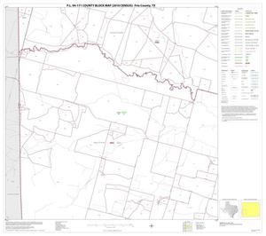 Primary view of object titled 'P.L. 94-171 County Block Map (2010 Census): Frio County, Block 9'.