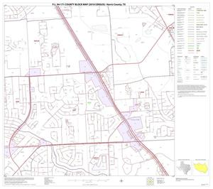 Primary view of object titled 'P.L. 94-171 County Block Map (2010 Census): Harris County, Block 68'.