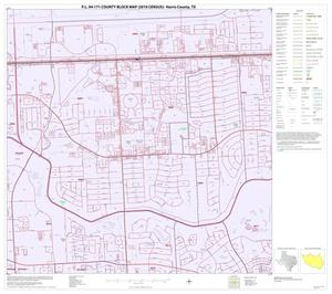 Primary view of object titled 'P.L. 94-171 County Block Map (2010 Census): Harris County, Block 193'.