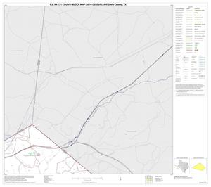Primary view of object titled 'P.L. 94-171 County Block Map (2010 Census): Jeff Davis County, Block 2'.