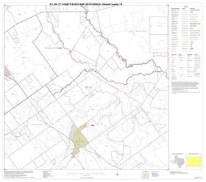 Primary view of object titled 'P.L. 94-171 County Block Map (2010 Census): Dimmit County, Block 8'.