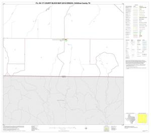 Primary view of object titled 'P.L. 94-171 County Block Map (2010 Census): Ochiltree County, Block 15'.
