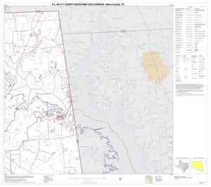 Primary view of object titled 'P.L. 94-171 County Block Map (2010 Census): Rains County, Block 3'.