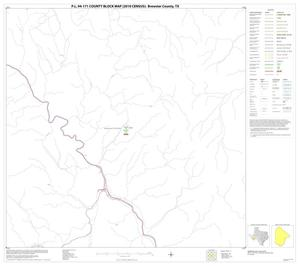 Primary view of object titled 'P.L. 94-171 County Block Map (2010 Census): Brewster County, Block 71'.