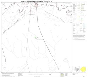 Primary view of object titled 'P.L. 94-171 County Block Map (2010 Census): Goliad County, Block 11'.