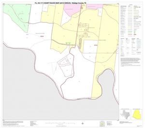 Primary view of object titled 'P.L. 94-171 County Block Map (2010 Census): Hidalgo County, Block 95'.