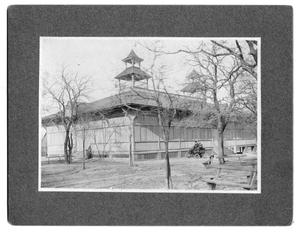 Primary view of object titled '[Grunewald Pavilion on Samuels Avenue]'.