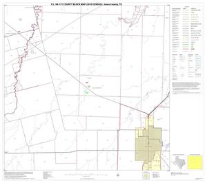 Primary view of object titled 'P.L. 94-171 County Block Map (2010 Census): Jones County, Block 6'.