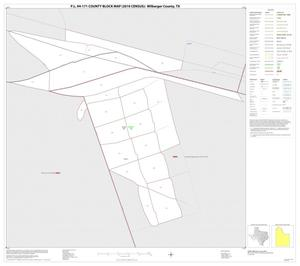 Primary view of object titled 'P.L. 94-171 County Block Map (2010 Census): Wilbarger County, Inset B01'.