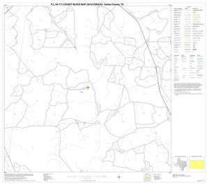 Primary view of object titled 'P.L. 94-171 County Block Map (2010 Census): Sutton County, Block 15'.