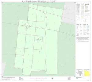 Primary view of object titled 'P.L. 94-171 County Block Map (2010 Census): Grayson County, Inset K01'.