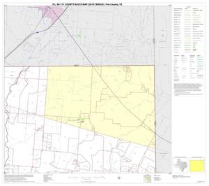 Primary view of object titled 'P.L. 94-171 County Block Map (2010 Census): Frio County, Block 4'.