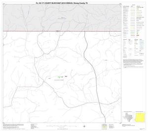 Primary view of object titled 'P.L. 94-171 County Block Map (2010 Census): Kinney County, Block 3'.