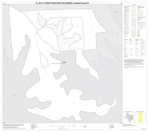Primary view of object titled 'P.L. 94-171 County Block Map (2010 Census): Franklin County, Inset C01'.