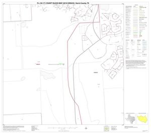 Primary view of object titled 'P.L. 94-171 County Block Map (2010 Census): Harris County, Block 106'.