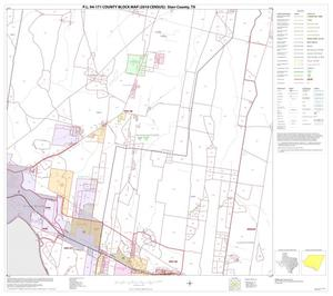 Primary view of object titled 'P.L. 94-171 County Block Map (2010 Census): Starr County, Block 24'.