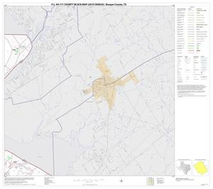 Primary view of object titled 'P.L. 94-171 County Block Map (2010 Census): Bosque County, Block 15'.