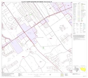 Primary view of object titled 'P.L. 94-171 County Block Map (2010 Census): Harris County, Block 71'.