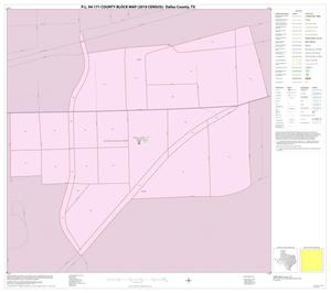Primary view of object titled 'P.L. 94-171 County Block Map (2010 Census): Dallas County, Inset M01'.