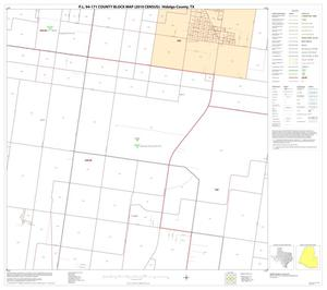 Primary view of object titled 'P.L. 94-171 County Block Map (2010 Census): Hidalgo County, Block 67'.
