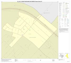 Primary view of object titled 'P.L. 94-171 County Block Map (2010 Census): Brazos County, Inset B01'.