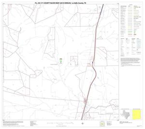 Primary view of object titled 'P.L. 94-171 County Block Map (2010 Census): La Salle County, Block 12'.