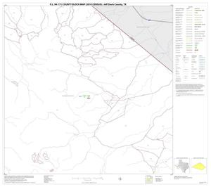 Primary view of object titled 'P.L. 94-171 County Block Map (2010 Census): Jeff Davis County, Block 6'.