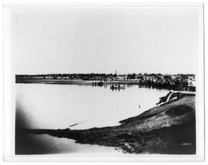 Primary view of object titled '[Photograph of Lake in Midland]'.