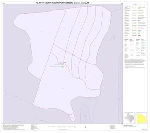 Primary view of object titled 'P.L. 94-171 County Block Map (2010 Census): Grayson County, Inset A01'.
