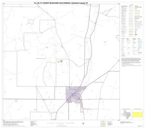 Primary view of object titled 'P.L. 94-171 County Block Map (2010 Census): Schleicher County, Block 9'.