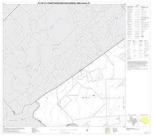 Primary view of object titled 'P.L. 94-171 County Block Map (2010 Census): Mills County, Block 4'.